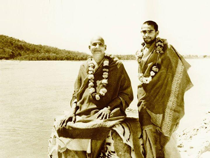 with swami vishnu